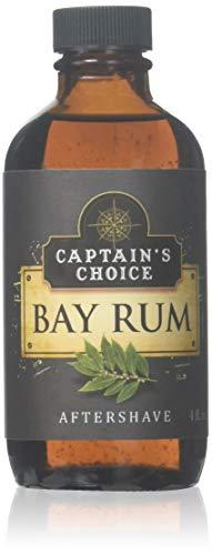 (Captain's Choice Original Bay Rum 4.0 oz After Shave Pour)