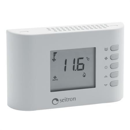 seitron Termostato para ventilconvettori fan-coil tfz01 m: Amazon.es: Iluminación