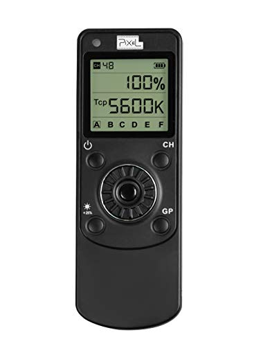 (PIXEL LC5 Wireless LED Remote Control for K60 K80 K90 Studio Photography Light)