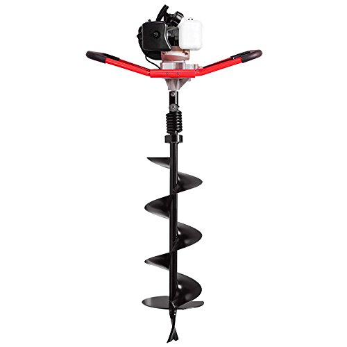 Hand Auger - Southland SEA438 One Man Earth Auger with 43cc, 2 Cycle, Full Crankshaft Engine
