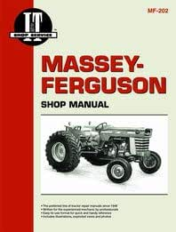 Amazon.com: Massey Ferguson 180 Tractor Service Manual (IT Shop): Home  ImprovementAmazon.com