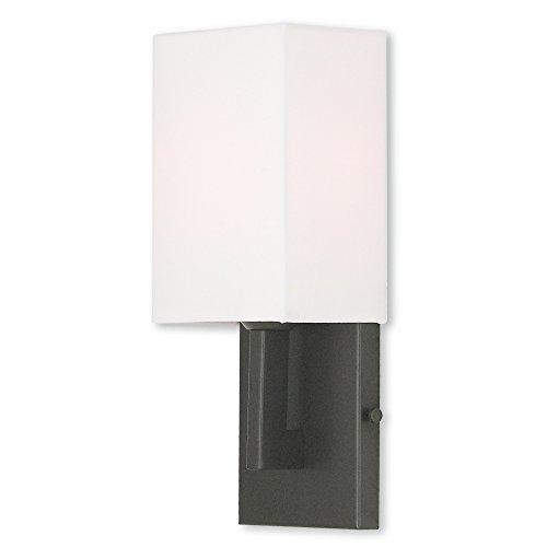 Livex Lighting 51101-07 Hollborn 1 Light Bronze Wall Sconce