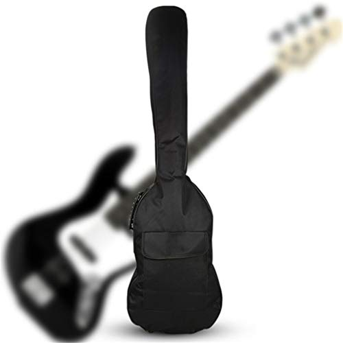 hainan Guitar Padded Soft Case Gig Bag Backpack Double Straps Size 47 2 by 15 4 Color Black Multi-Color one Size