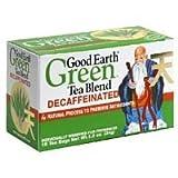 Good Earth Green Tea Blend Decaf (3x25 bag)