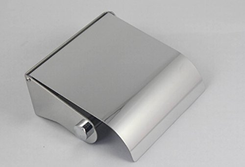 28314  Toilet Roll Holder with Lid, 18/8  Stainless Steel (SUS304), High Polished 18/8 Stainless Steel (SUS304) Bene