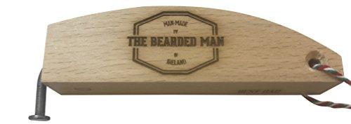 Abrebotellas de madera con clavo hecho a mano en Irlanda de madera de nogal Día del Padre Mejor regalo para papá
