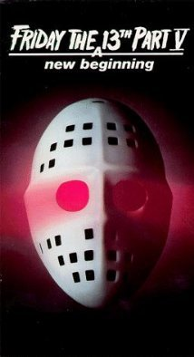 Friday the 13th Part V 5 A New Beginning Movie Poster  24x36