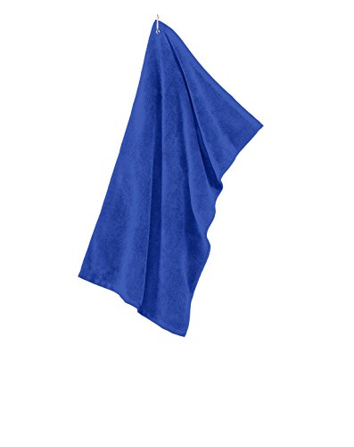 Towel Grommeted Microfiber Golf (Port Authority Grommeted Microfiber Golf Towel. TW530 - Royal TW530 OS)