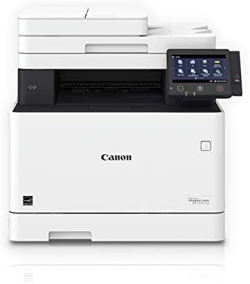 Canon Color Image CLASS MF743Cdw – All in One, Wireless, Mobile Ready, Duplex Laser Printer Comes with 3 Year Limited Warranty , White, Mid Size, Amazon Dash Replenishment Ready