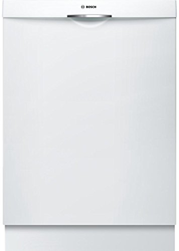 Bosch SHSM63W52N 24″ 300 Series Built In Fully Integrated Dishwasher with 5 Wash Cycles, in White