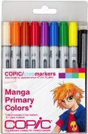 - Copic Markers 9-Piece Ciao Manga Set, Primary