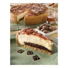Alden Merrell Desserts Gourmet Turtle Cheesecake, 96 Ounce -- 2 per case.