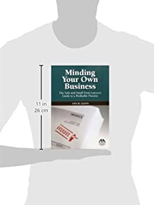 Minding Your Own Business: The Solo and Small Firm Lawyer's Guide to a Profitable Practice from American Bar Association