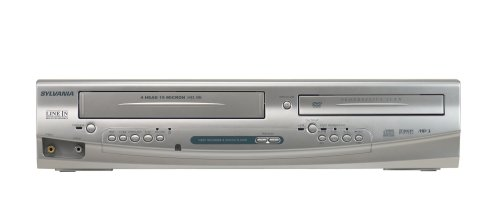 Sylvania DV220SL8 Tunerless Dual Deck DVD Player/VCR Combo by Sylvania
