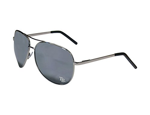 - Siskiyou MLB Tampa Bay Rays Aviator Sunglasses