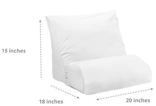 - Contour Products, Flip Pillow, Standard Size (20 inch Width), Pillow ONLY