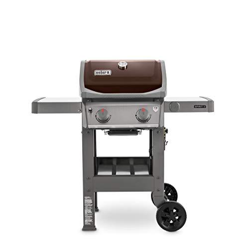 Weber 44070001 Spirit II E-210 2-Burner Liquid Propane Grill, Mocha