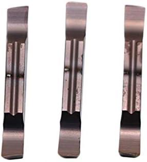 Txrh Drehbank 10PCS MGGN150 MGGN200 MGGN250 MGGN300 MGGN400 MGGN500 JM Slot Rillklinge Karbid-Einsätze CNC-Drehmaschine Schneidwerkzeug for Metall (Angle : MGGN300, Shank Diameter : R PC9030)