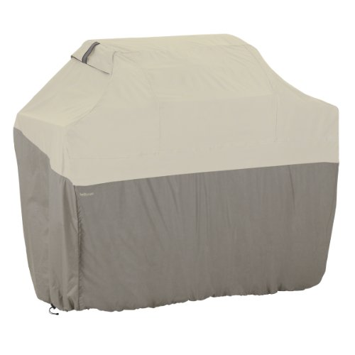 Classic Accessories 55-258-041001-00 Belltown Outdoor Grill Cover, Grey, Large