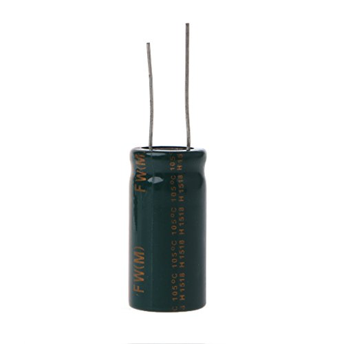 (16V 10000uF Capacitance Electrolytic Radial Capacitor High Frequency Low ESR)