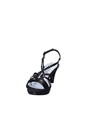 Noir À Sandales Femmes Hauts Talons Sa0571 Osey EY6fqq
