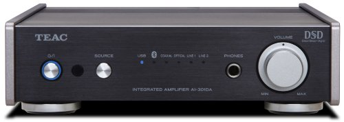 Teac AI-301DA-BK Integrated Amplifier with Bluetooth USB and DAC (Black)