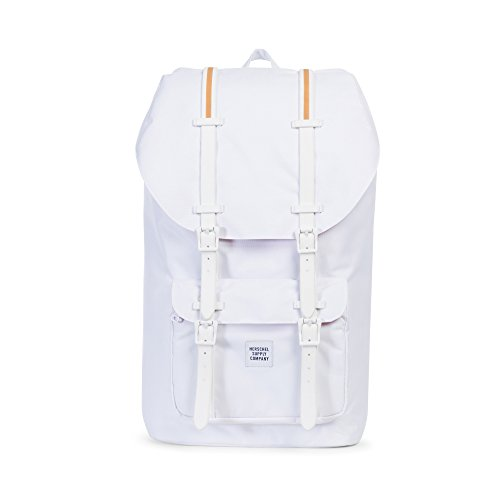 Herschel Supply Co. Little America Backpack, White/gum by Herschel Supply Co.