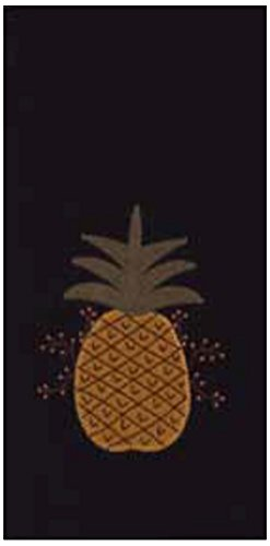Home Collection by Raghu Pineapple Welcome Towel, 18 x 28