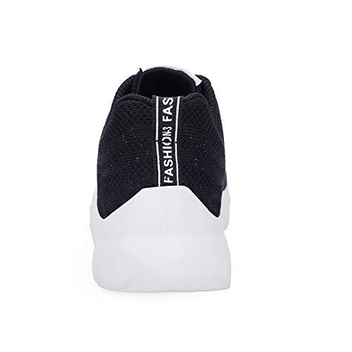 Mode Qzbaoshu Femme Noir Fitness Baskets Sport Chaussures xAgwa6AS
