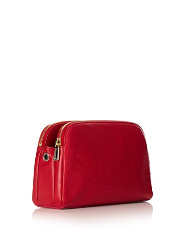 FURLA - Bolso cruzados para mujer rojo rojo Rojo