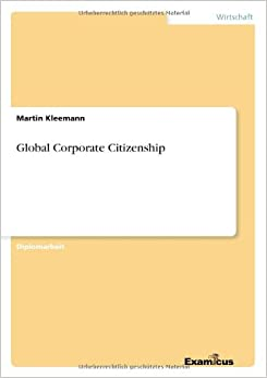Global Corporate Citizenship