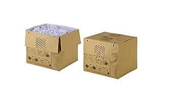 Capacit/à 115L 2105903 Pacco da 50 Per Distruggidocumenti Rexel Auto+ 750 Rexel Sacchetti Riciclabili per Distruggidocumenti