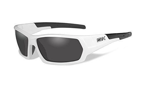 DVX by Wiley X - NEXT- SUN & SAFETY GLASSES- POLARIZED GREY LENSES/ GLOSS WHITE - Dvx Sunglasses