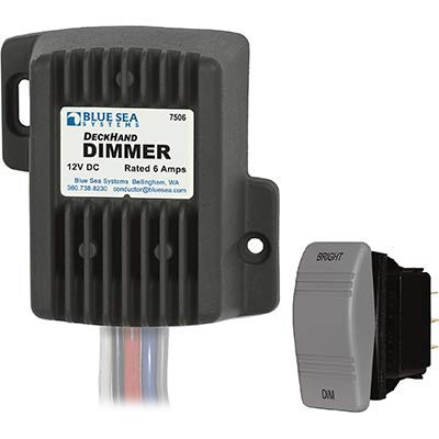 - Blue Sea Systems Dimmer, Deckhand, 12V, 6A