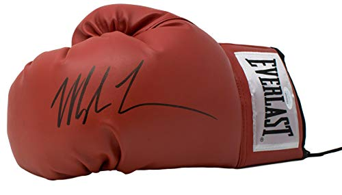 Mike Tyson Signed Red Everlast Left Hand Boxing Glove JSA