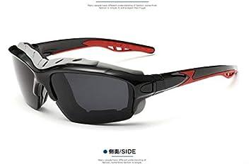 AZDDFVZ Montar Gafas de sol deportivas Gafas de sol polarizadas Hombres Mujeres Gafas de montar de
