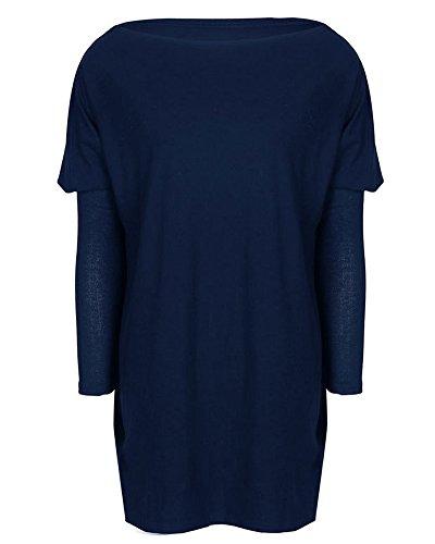 Pullover Minetom En Chandail Haut Top Pull Femme Tricot pzZSOczfU