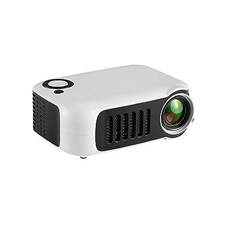Mini proyector portátil 1080P HD con LCD y Peso Ligero para Home ...