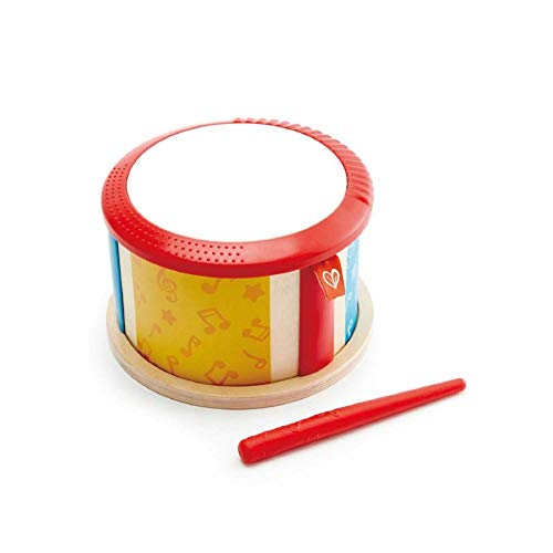 Hape Double-Sided Drum| Wooden Double-Side Musical Drum Instrument for Toddlers