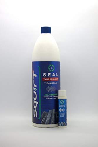 Squirt Seal Tyre Sealant met Beadblock 1000 ml