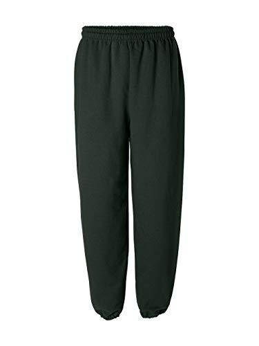Gildan Activewear 50/50 Sweatpants, XL, Forest Green