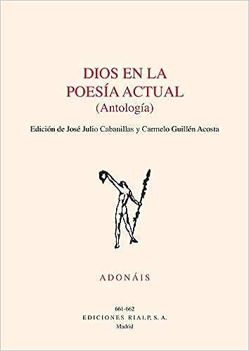 Dios En La Poesia actual Antologia Poesía. Adonáis: Amazon.es ...