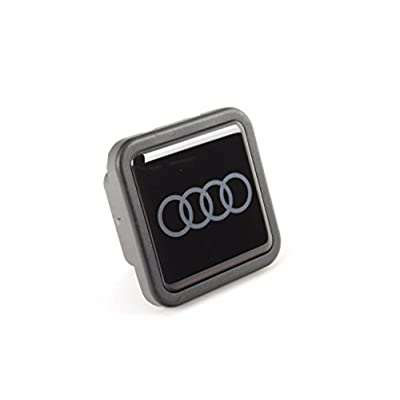 AUDI Genuine ZAW092702B Trailer Hitch Cover: Automotive [5Bkhe2004446]