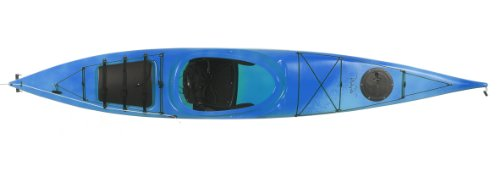 Boreal Design Ookpik PE Rudder Touring Kayak, White/Blue
