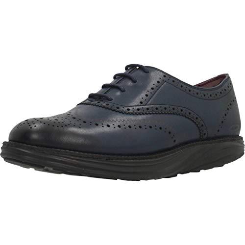 Zapato Mujer Azul Para Boston Mbt BqU5Y7