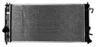 (TYC 2335 Toyota Celica 1-Row Plastic Aluminum Replacement Radiator)