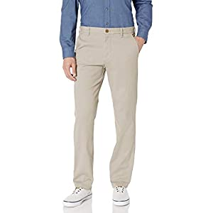 IZOD Men's Flat Front Straight Fit Performance Pant
