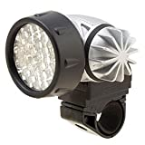 Waterproof 37 White LED Head Torch Bike Bicycle Lamp