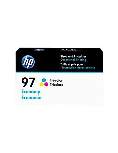(HP 97 Tri-color Economy Original Ink Cartridge (D8J32AN) for HP Deskjet 460 6830 6840 6940 6988 9800 HP Officejet 100 150 H470 7210 7310 7410)