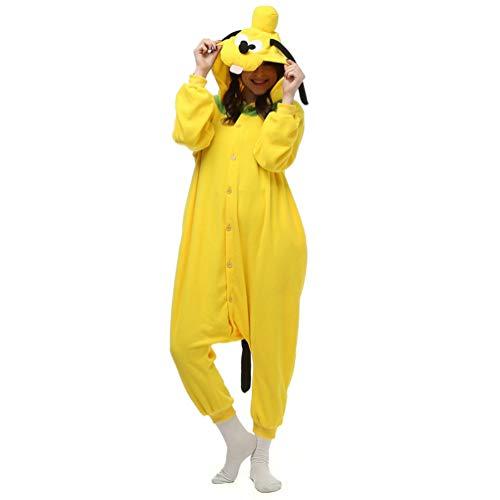 CHARWOR Cute Animal Onesie Cosplay Costumes Halloween One-Piece Pjs Unisex Adult Pajamas ()